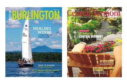 Cushman Design Group Best of Burlington Magazine Best of Central Vermont Magazine
