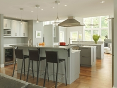 Contemporary Kitchen & Bath Addition